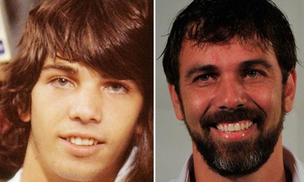 O antes e o depois dos famosos