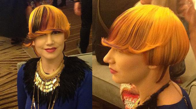 Em busca de novidades em congressos para cabeleireiros
