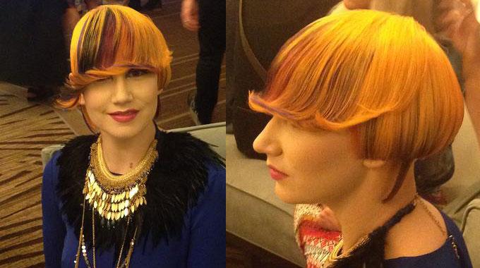 Tendência dos cabelos coloridos