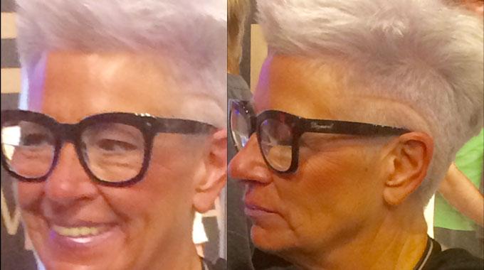 Cabeleireiro dá 3 dicas para mulheres que pensam em assumir os cabelos brancos